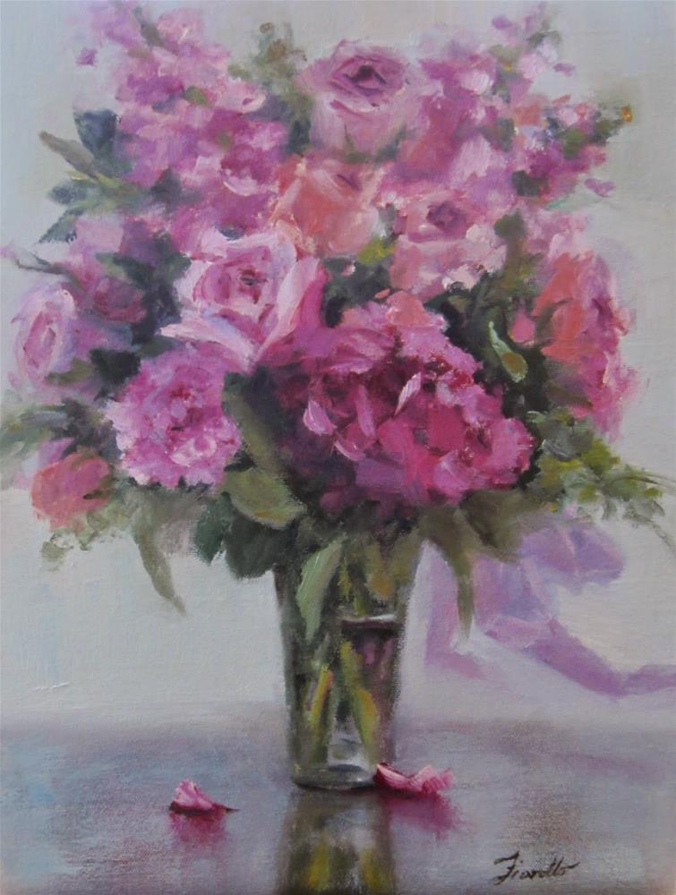"""""""Pretty in Pink"""" original fine art by Pat Fiorello"""