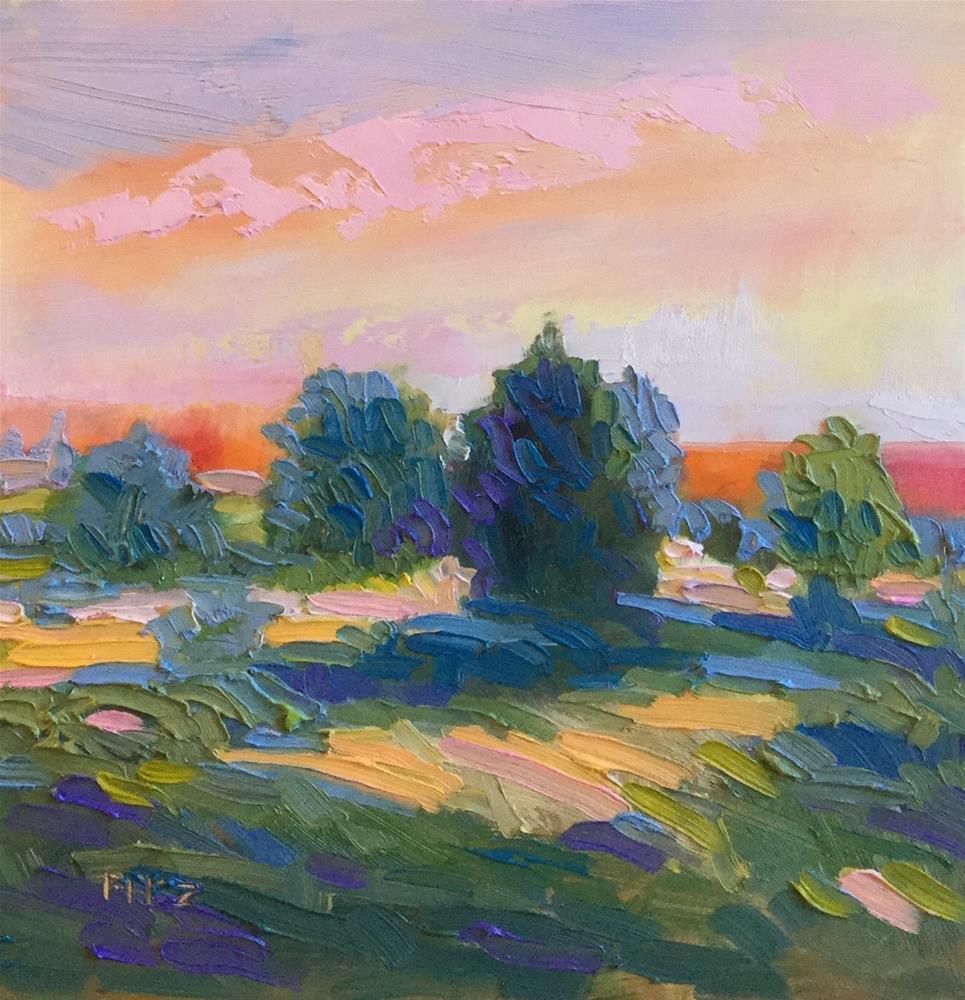 """Autumn Hills"" original fine art by Charlotte Fitzgerald"