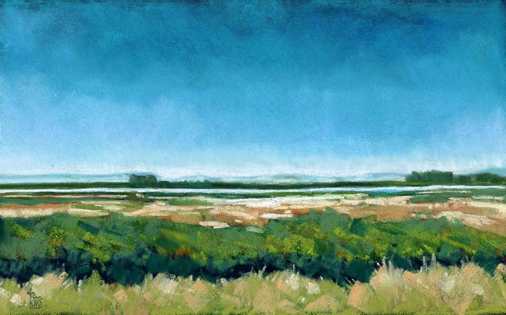 """Napa Valley"" original fine art by Ria Hills"