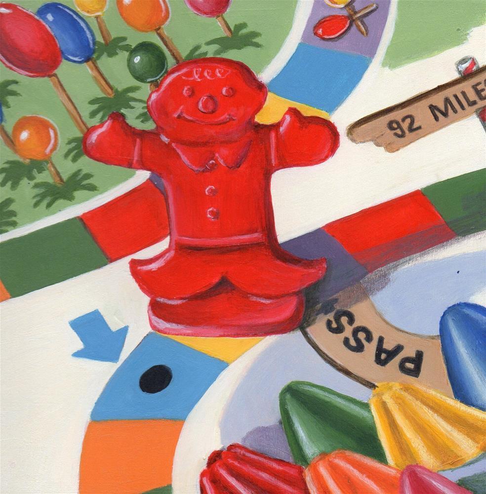 """Sugar Rush"" original fine art by Debbie Shirley"