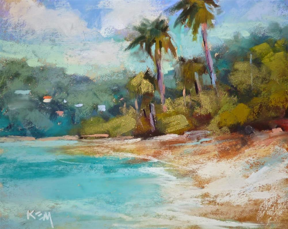 """The Best Tool For Traveling Artists"" original fine art by Karen Margulis"