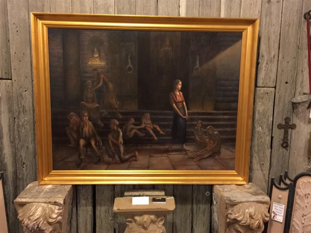 """""""Art Show"""" original fine art by Jonathan Aller"""
