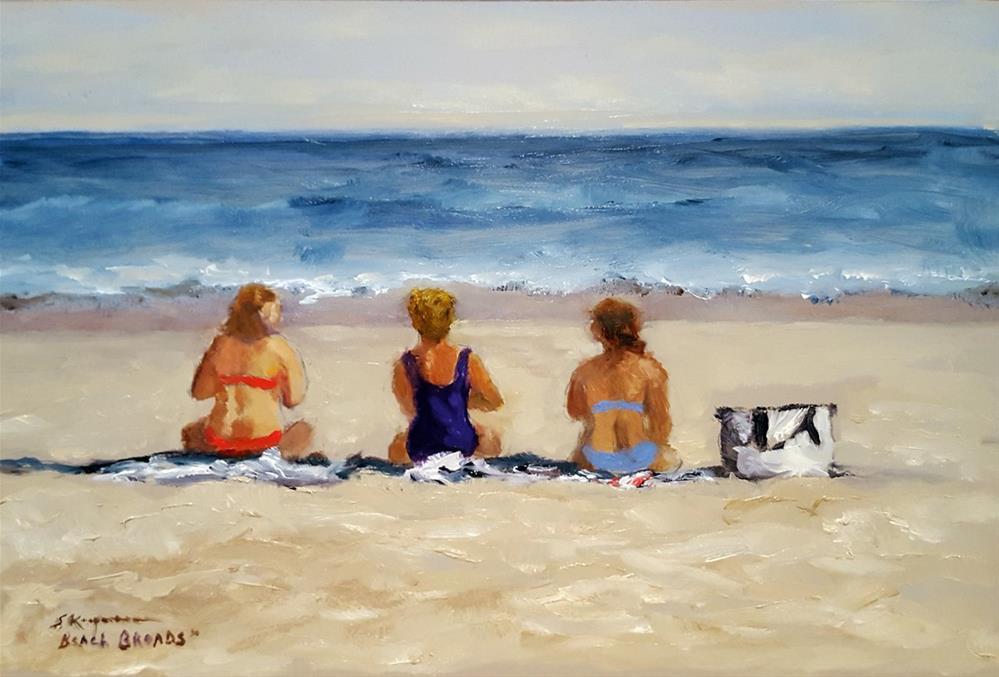 """""""Beach Broads"""" original fine art by Shelley Koopmann"""