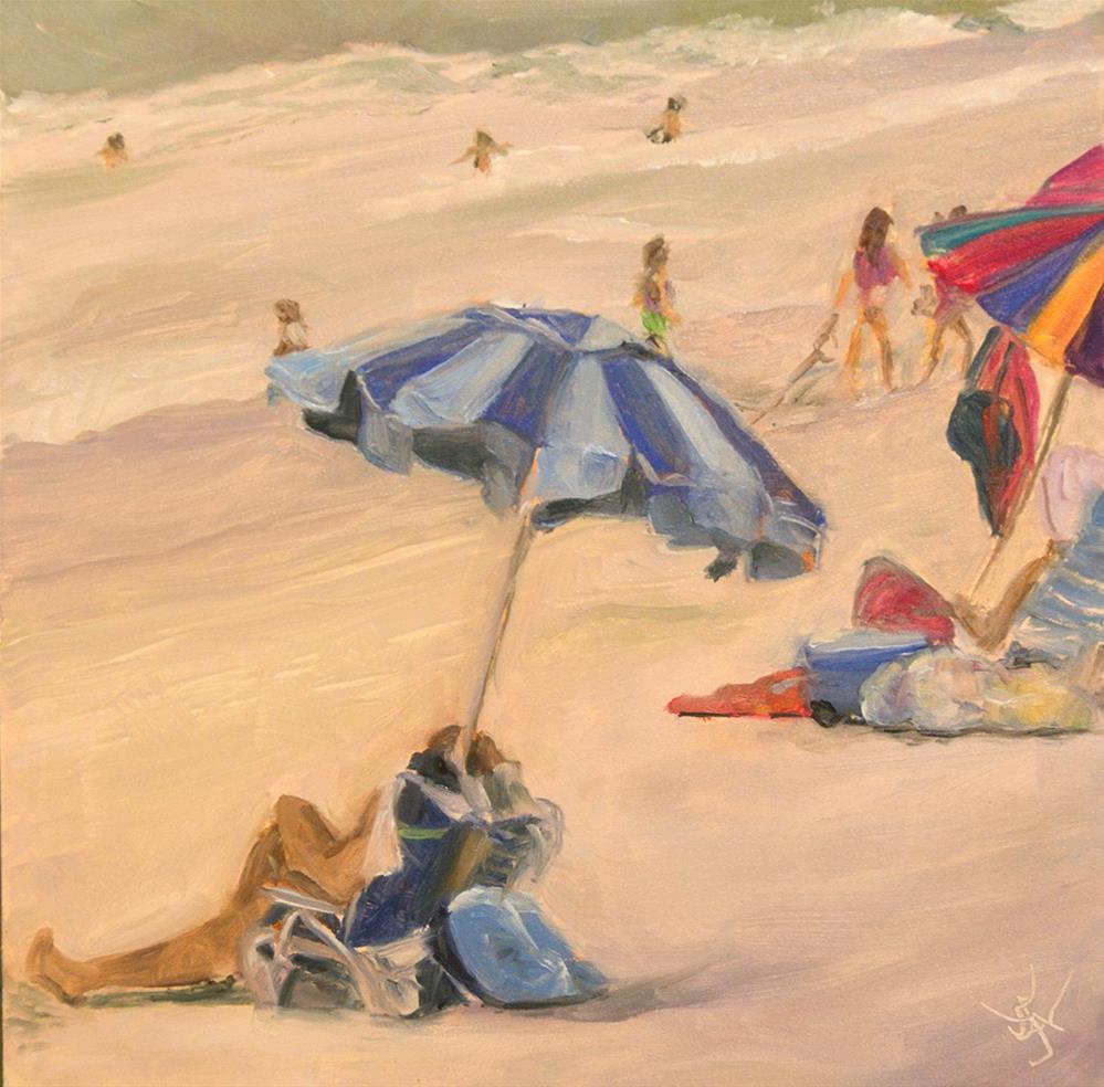"""I Know What I Did Last Summer!"" original fine art by Jan Jackson"