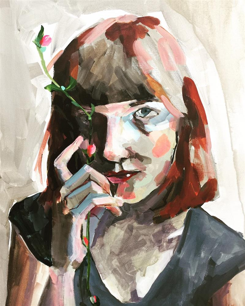 """518 Becoming"" original fine art by Jenny Doh"