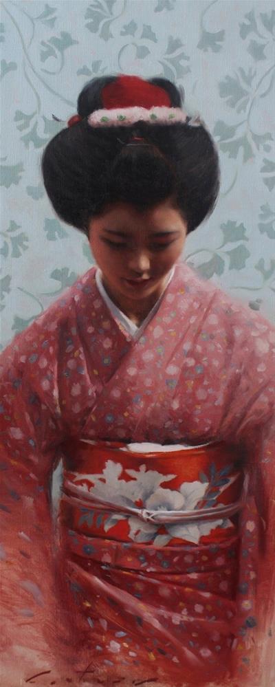 """Kyoto Hana"" original fine art by Phil Couture"