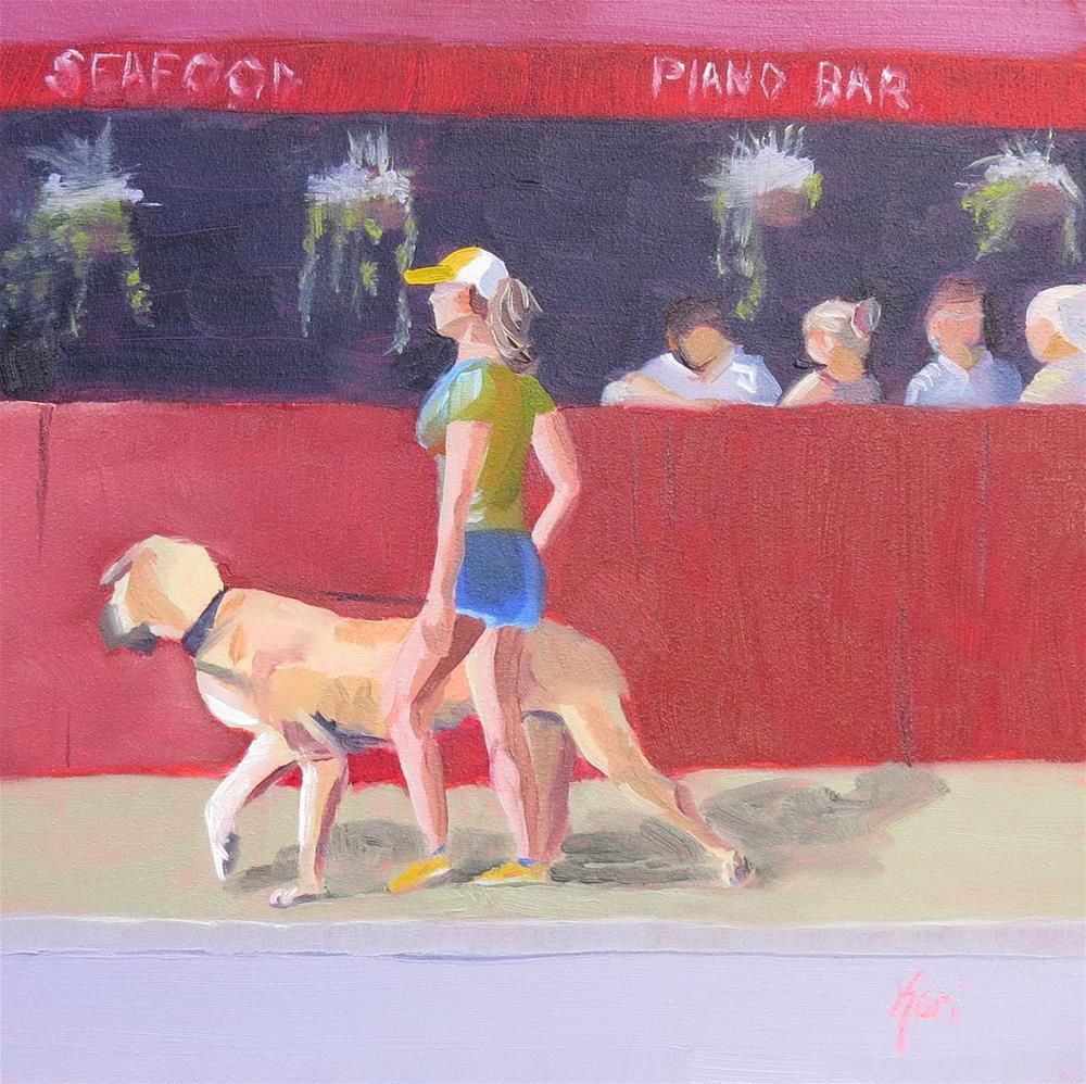 """""""Long Tall Sally"""" original fine art by Kari Melen"""