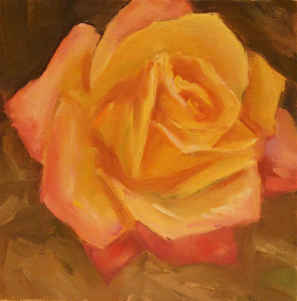 """""""Rose Fever"""" original fine art by Doug Carter"""