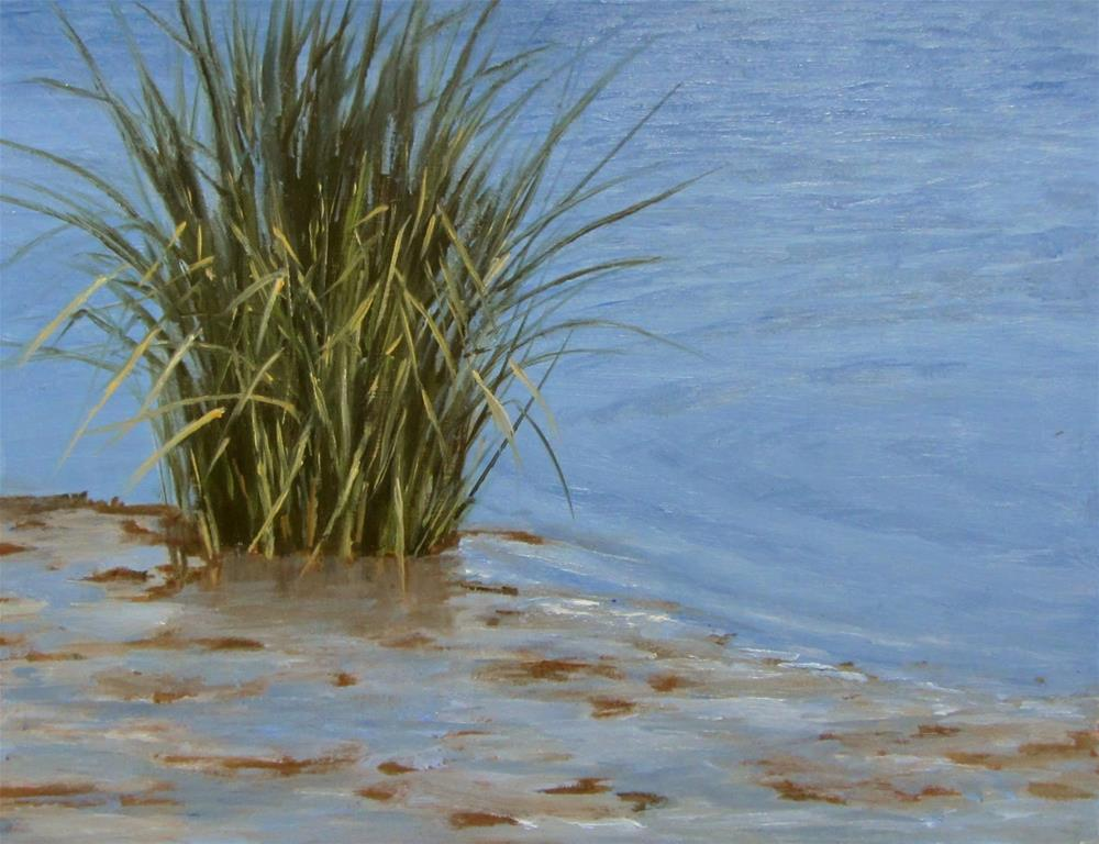 """Salt Marsh Grass"" original fine art by Karen Johnston"