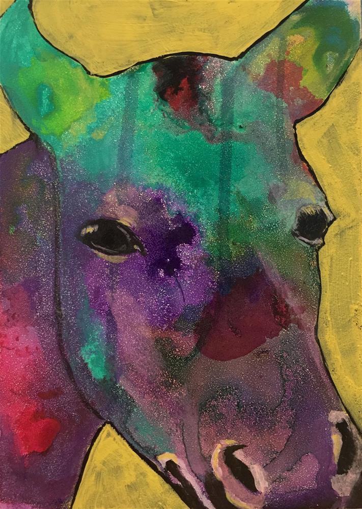 """#13 Reverie"" original fine art by Silke Powers"