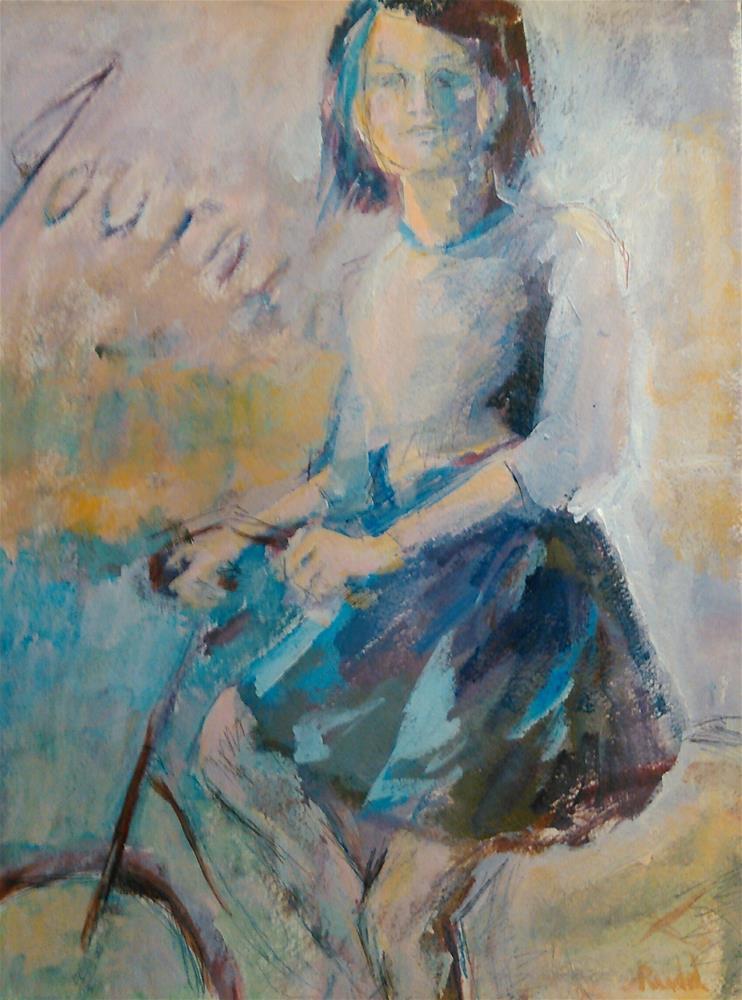 """Journey"" original fine art by Ann Rudd"