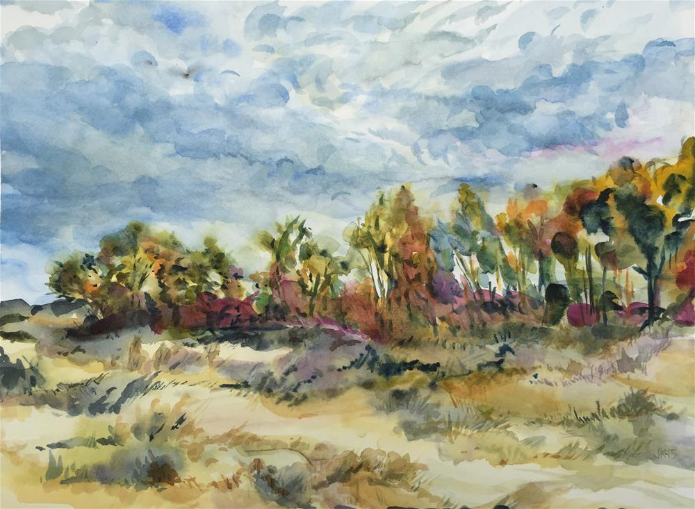 """Dorothy's Ranch"" original fine art by Jean Krueger"