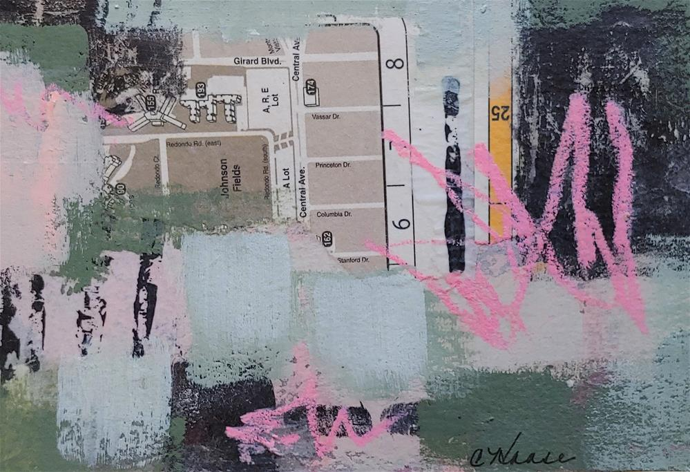 """""""Uptown"""" original fine art by Cindy Haase"""
