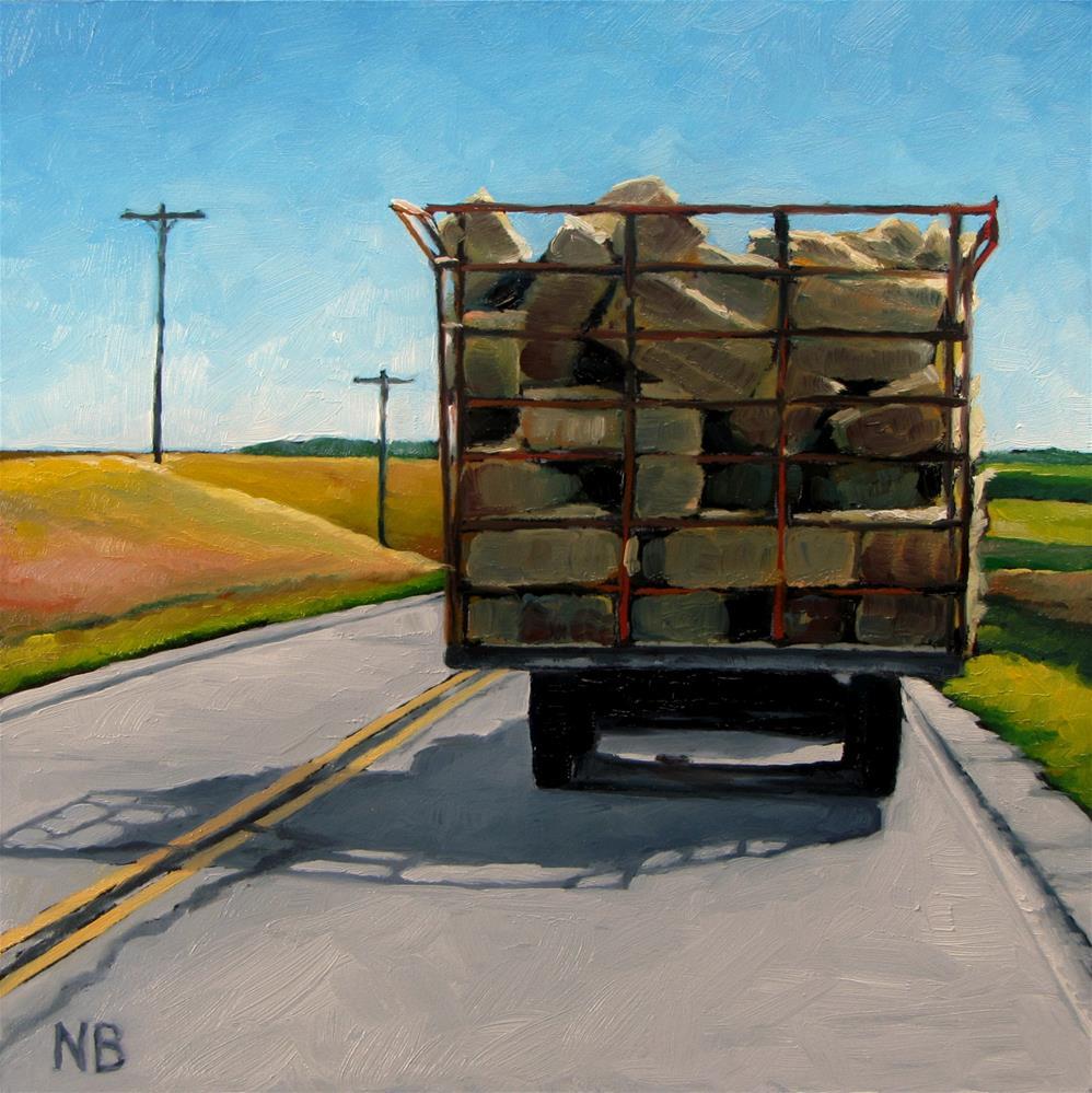 """Heading Home"" original fine art by Nora Bergman"
