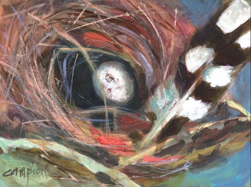 """408 Mismatched"" original fine art by Diane Campion"