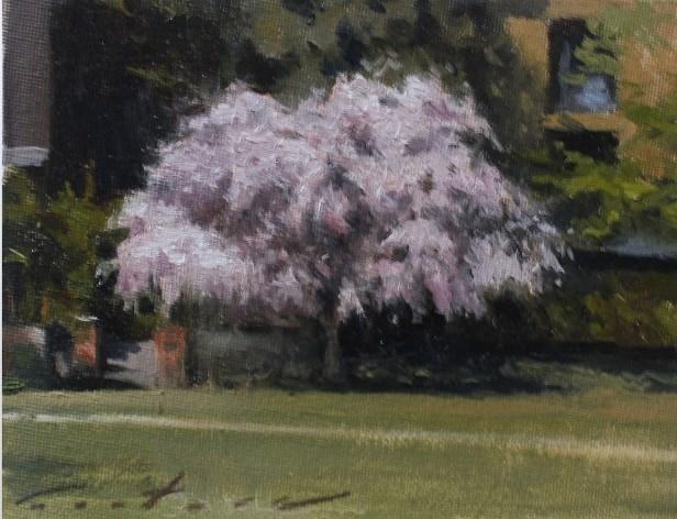 """Sakura Season"" original fine art by Phil Couture"