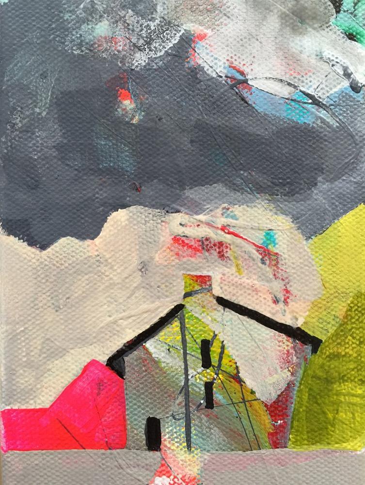 """74 Clouds Above"" original fine art by Jenny Doh"