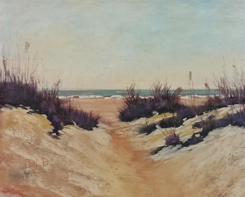 """On Vacation"" original fine art by Donna Donnon"
