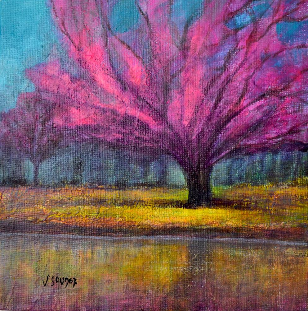 """Spring 2"" original fine art by Véronique Saudez"