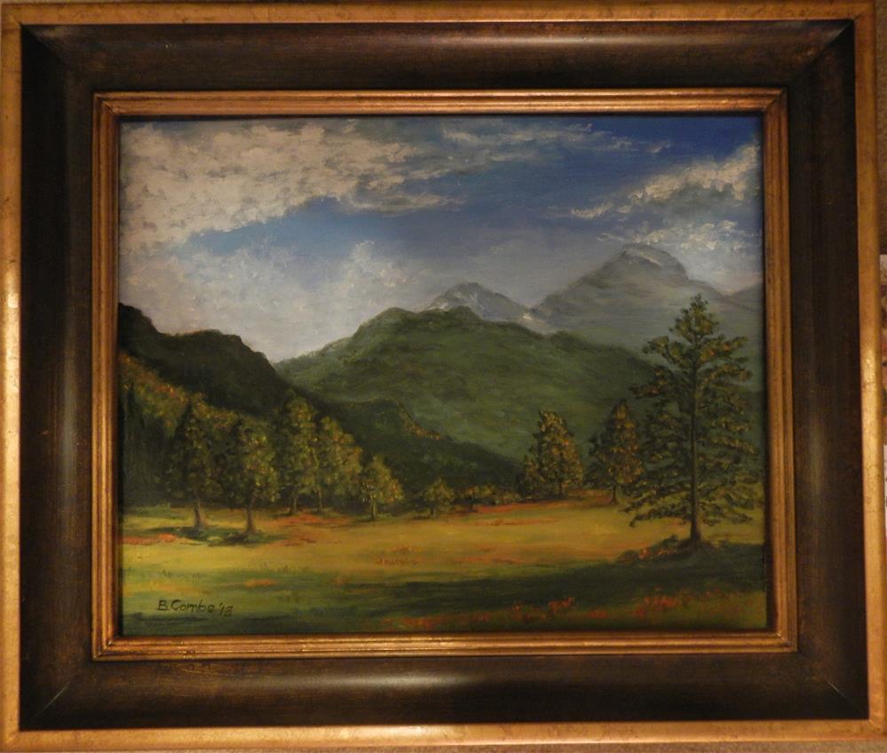"""Western Landscape"" original fine art by Bebe Combs"