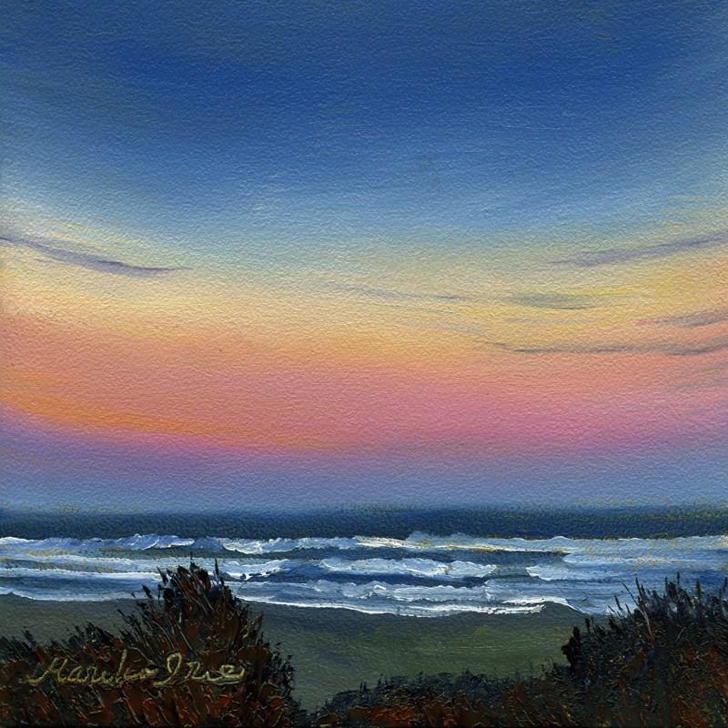 """Morning Glow"" original fine art by Mariko Irie"
