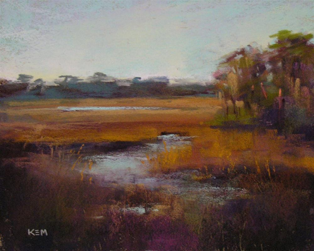 """The Secret to Effective Layering with Pastels"" original fine art by Karen Margulis"