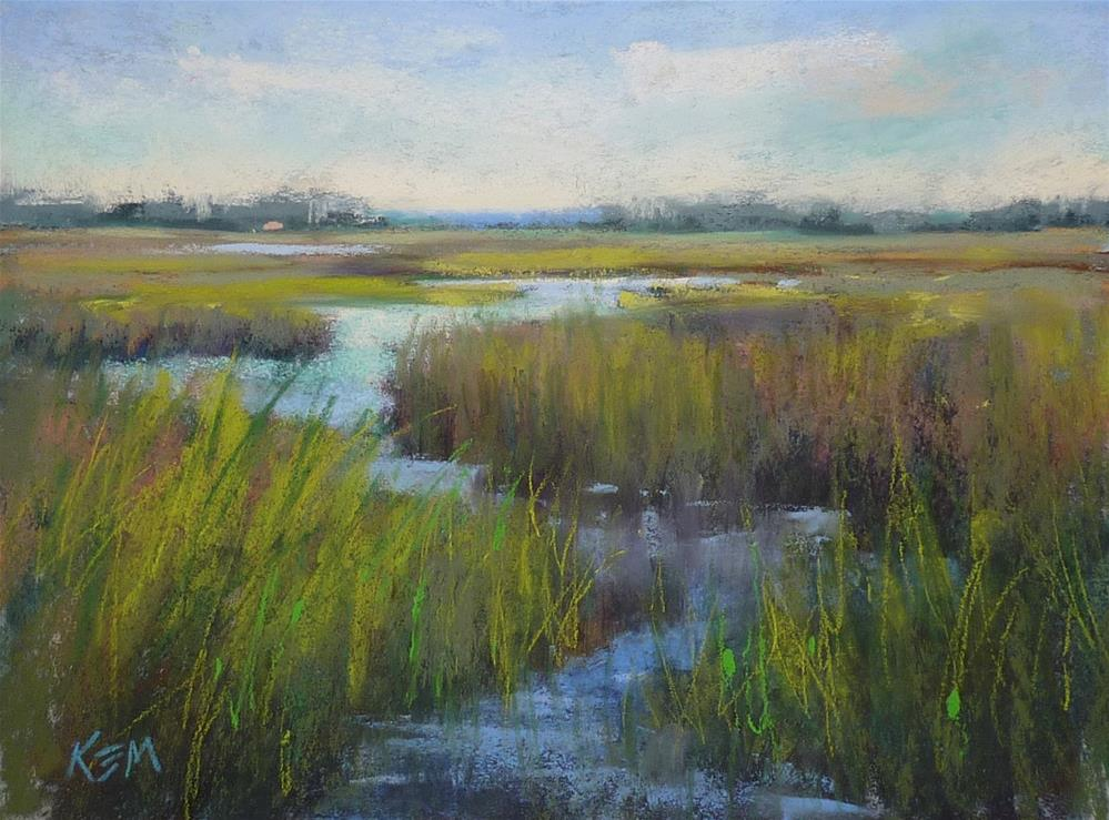 """""""Three Tips for Painting Water: New Video Release!"""" original fine art by Karen Margulis"""
