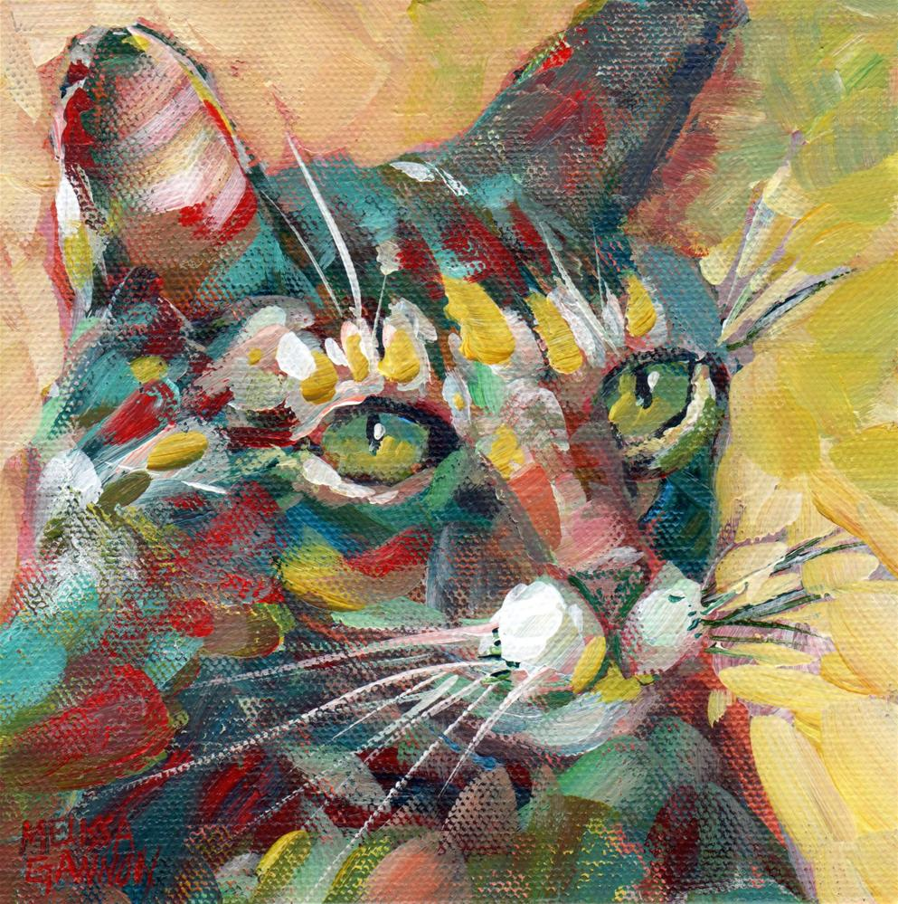 """Focused!"" original fine art by Melissa Gannon"