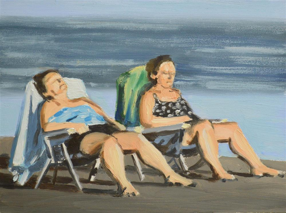 """Last Rays"" original fine art by Peter Bain"