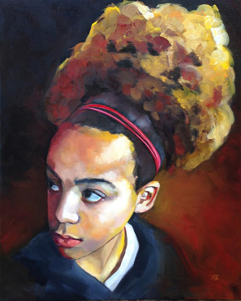 """Larissa"" original fine art by Elizabeth Dawn Johnston"