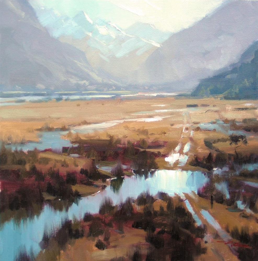 """Hidden Valley"" original fine art by Richard Robinson"