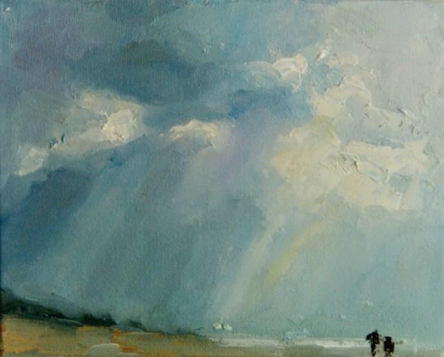 """Overcast"" original fine art by Astrid Buchhammer"