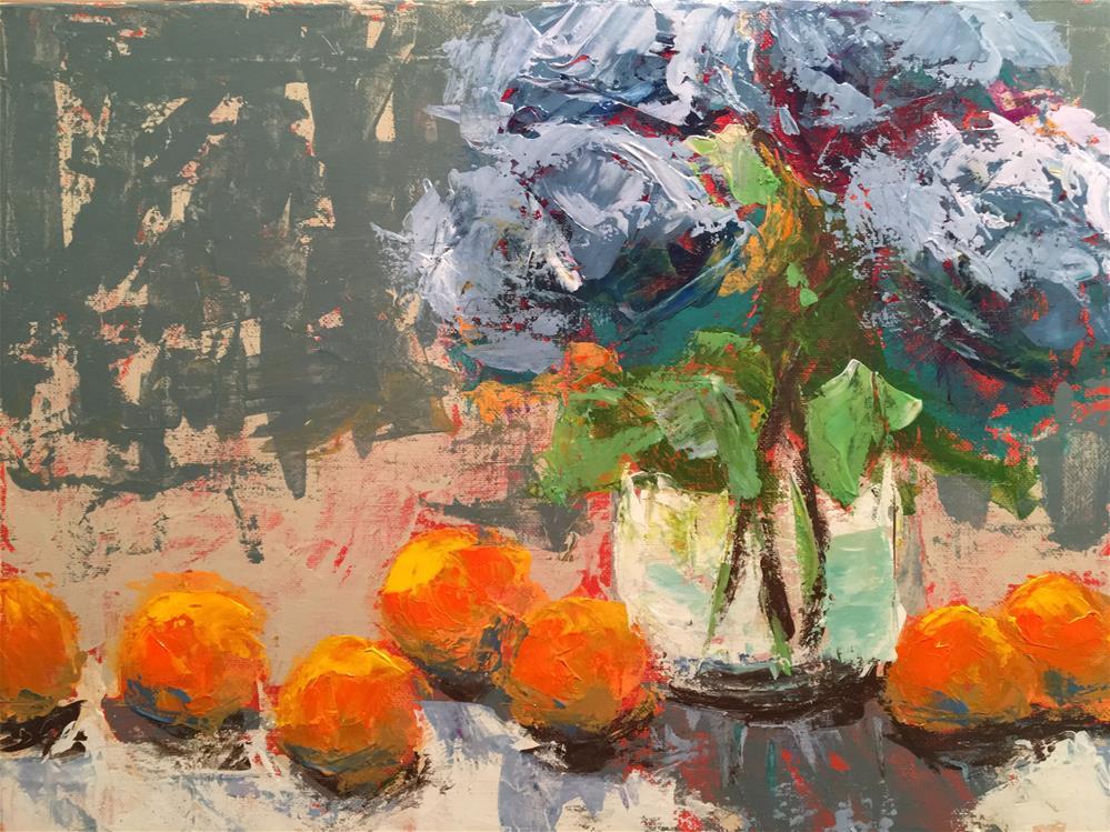 """Summer's Bounty"" original fine art by Susan Elizabeth Jones"