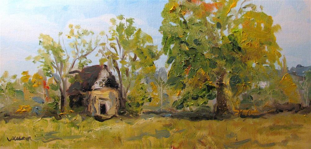 """Outskirts of Maury County"" original fine art by Susan Elizabeth Jones"