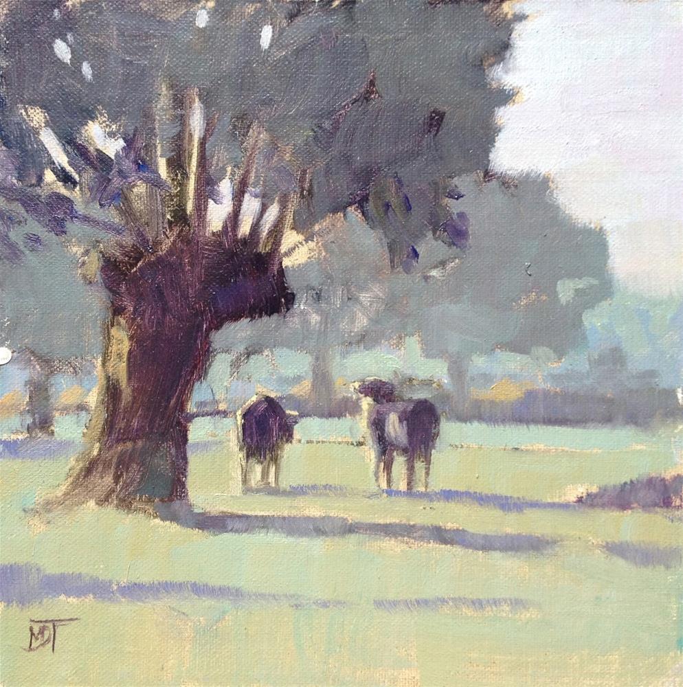 """Early Morning"" original fine art by Mo Teeuw"