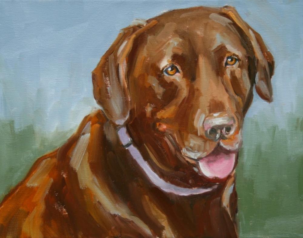 """kenzie"" original fine art by Carol Carmichael"