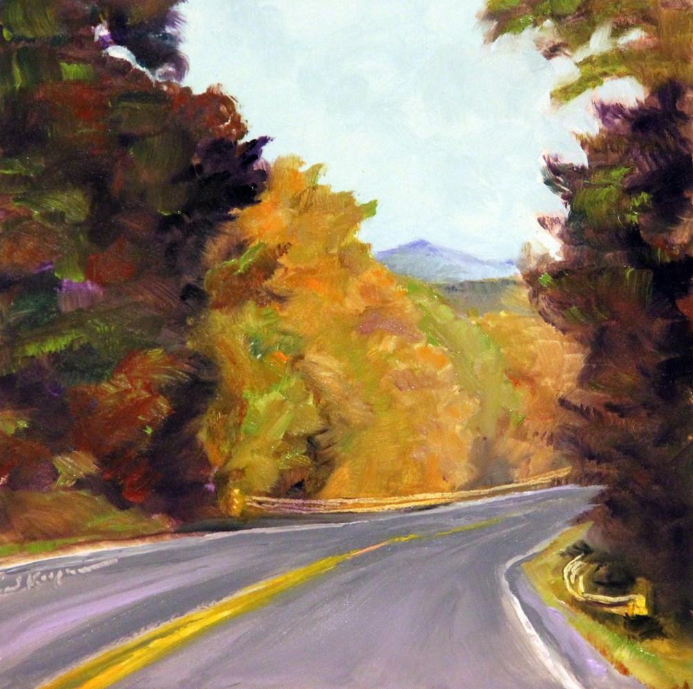 """""""Bedford Fall"""" original fine art by Shelley Koopmann"""