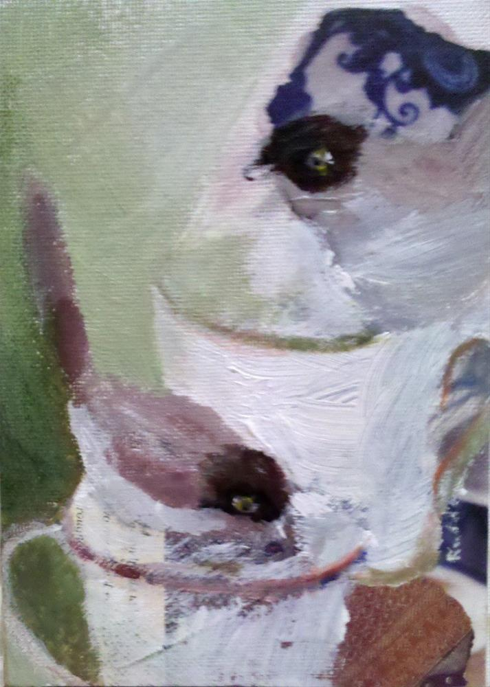 """Tea for Two"" original fine art by Ann Rudd"
