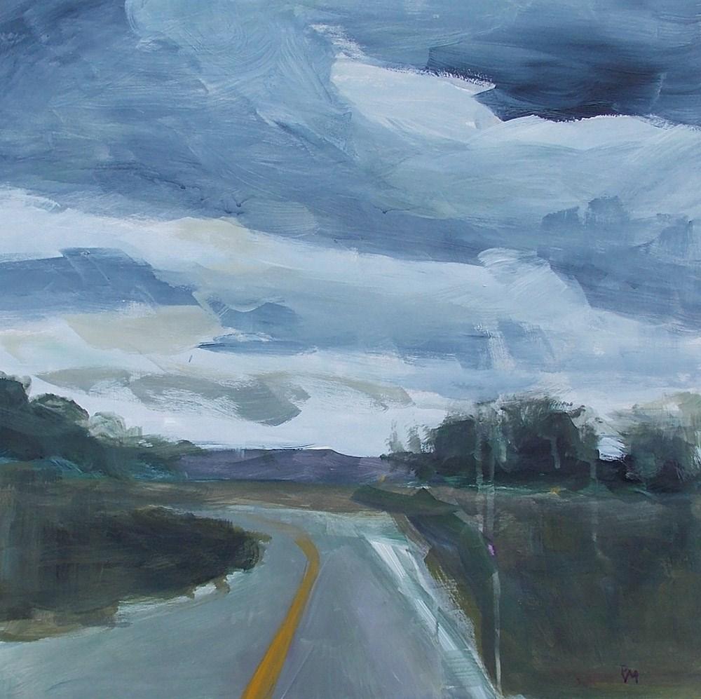 """""""Leaving Paonia"""" original fine art by Pamela Munger"""