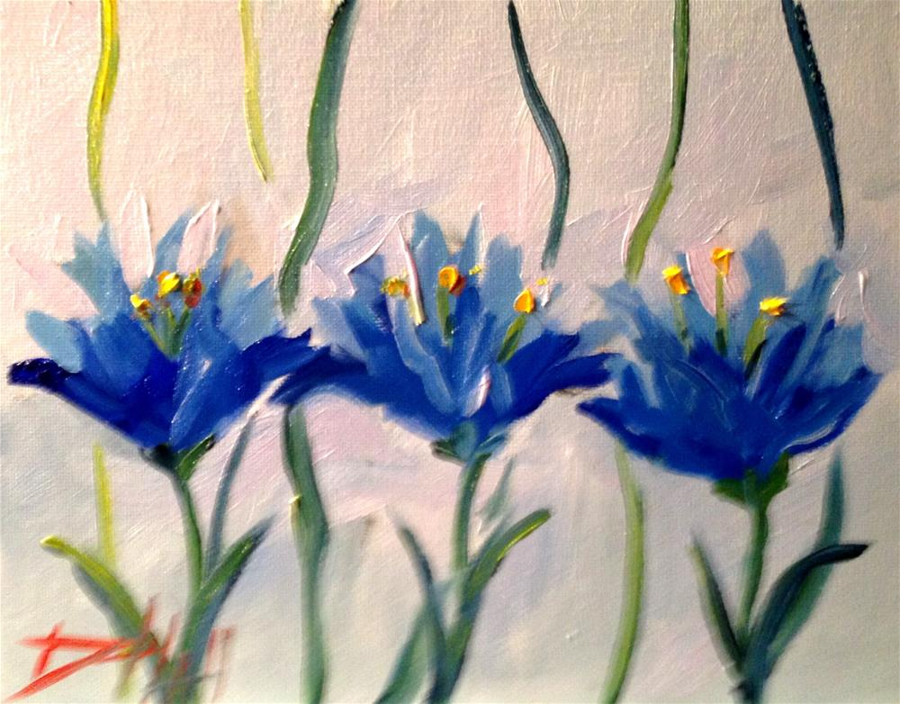"""Crocus No. 4"" original fine art by Delilah Smith"