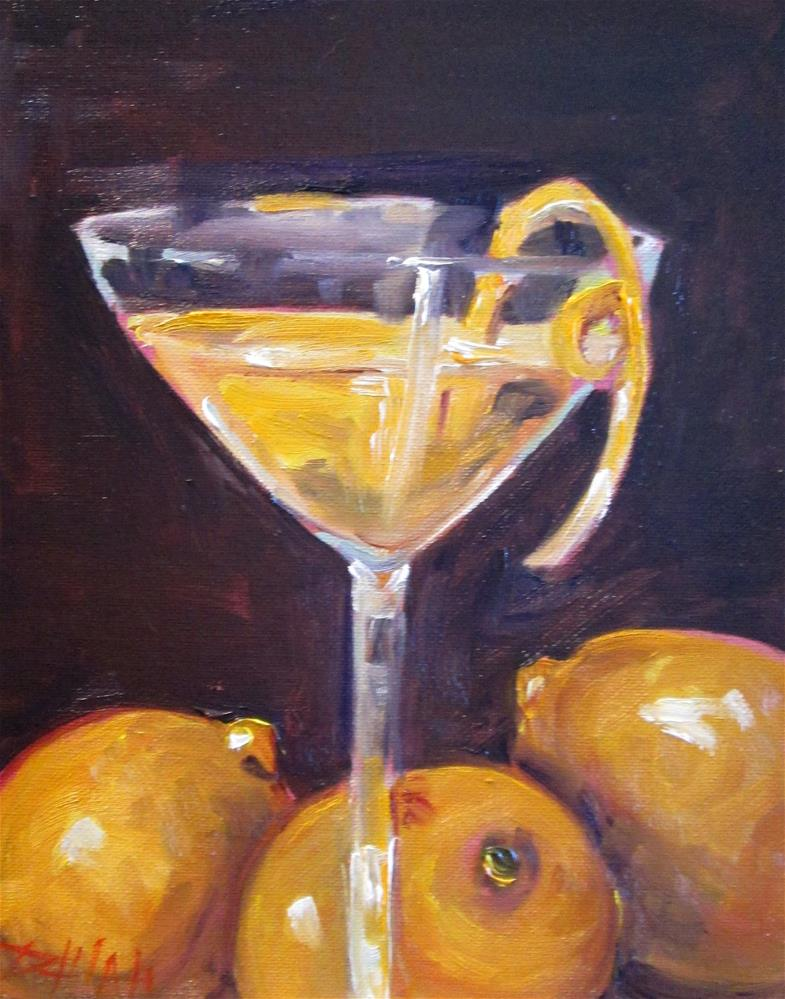 """When Life Gives You Lemons"" original fine art by Delilah Smith"