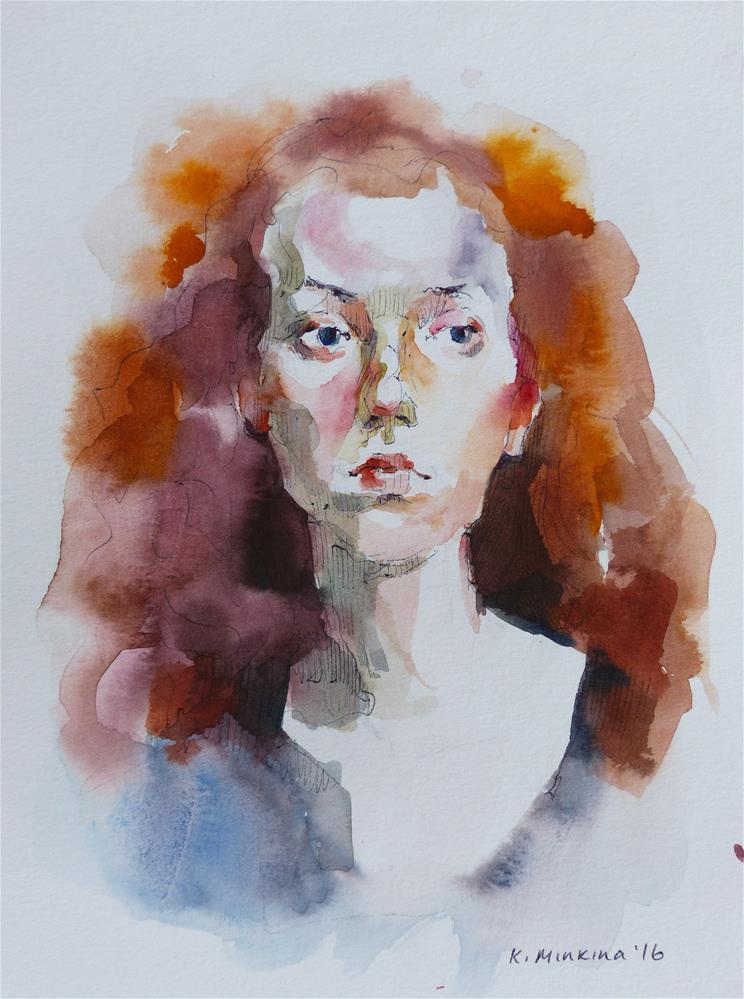 """sketchbook#27"" original fine art by Katya Minkina"