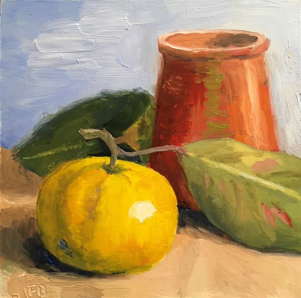 """149 Clementine Three"" original fine art by Fred Bell"