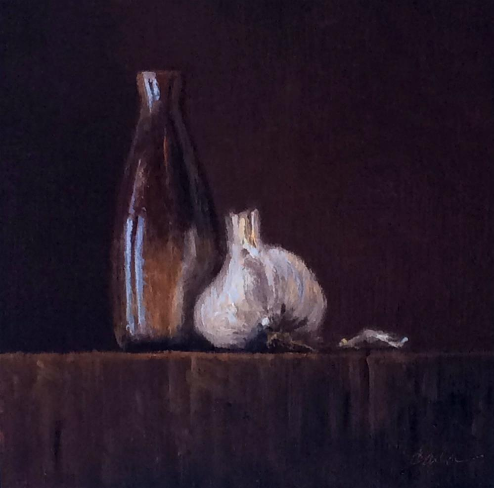 """Winter Garlic"" original fine art by Darla McDowell"