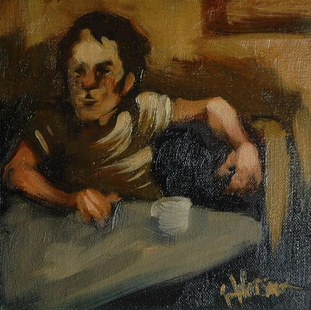 """Untitled"" original fine art by Kayleen Horsma"