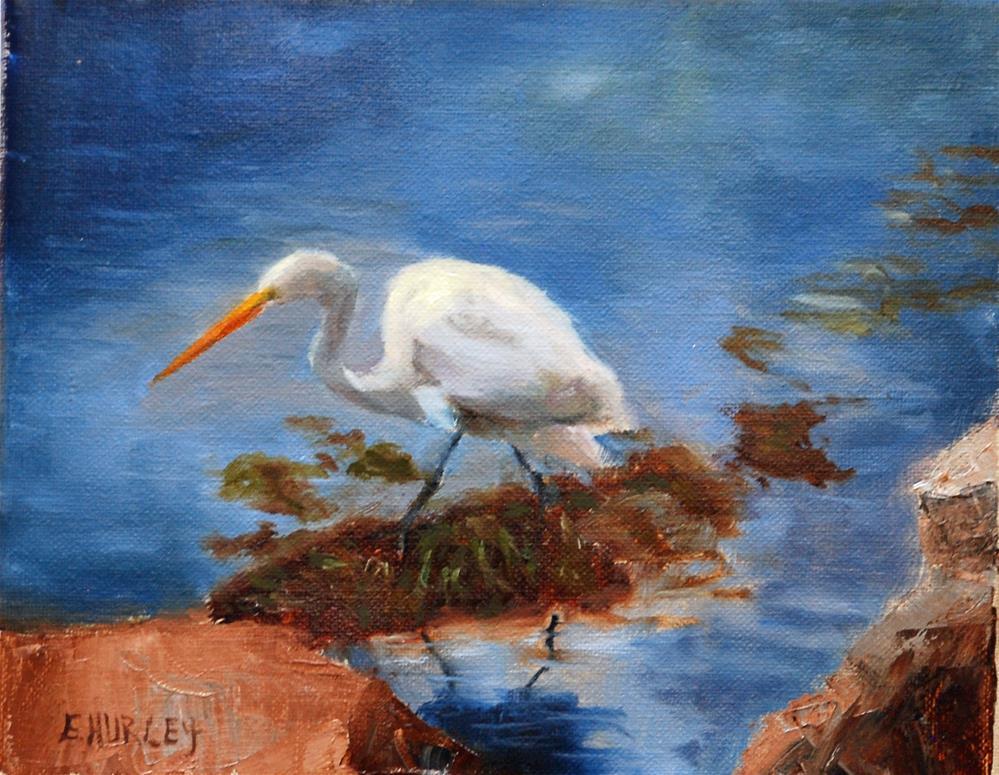 """""""Patience"""" original fine art by Ellen Hurley"""