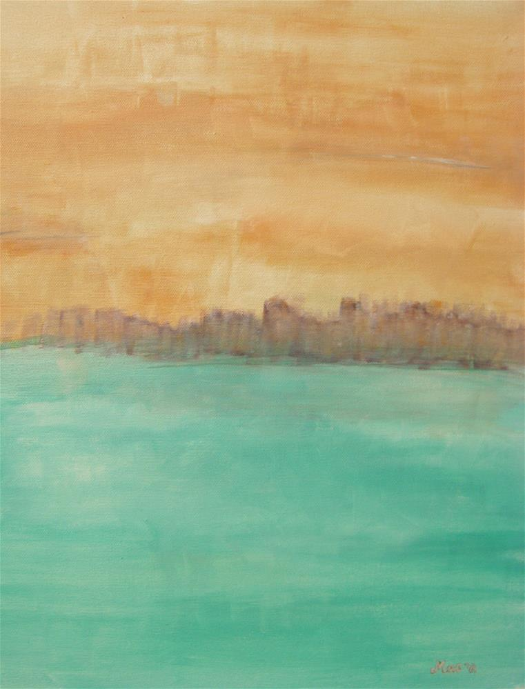 """The Island"" original fine art by Alina Frent"