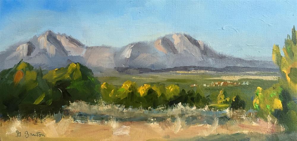 """Western Skies"" original fine art by Gary Bruton"