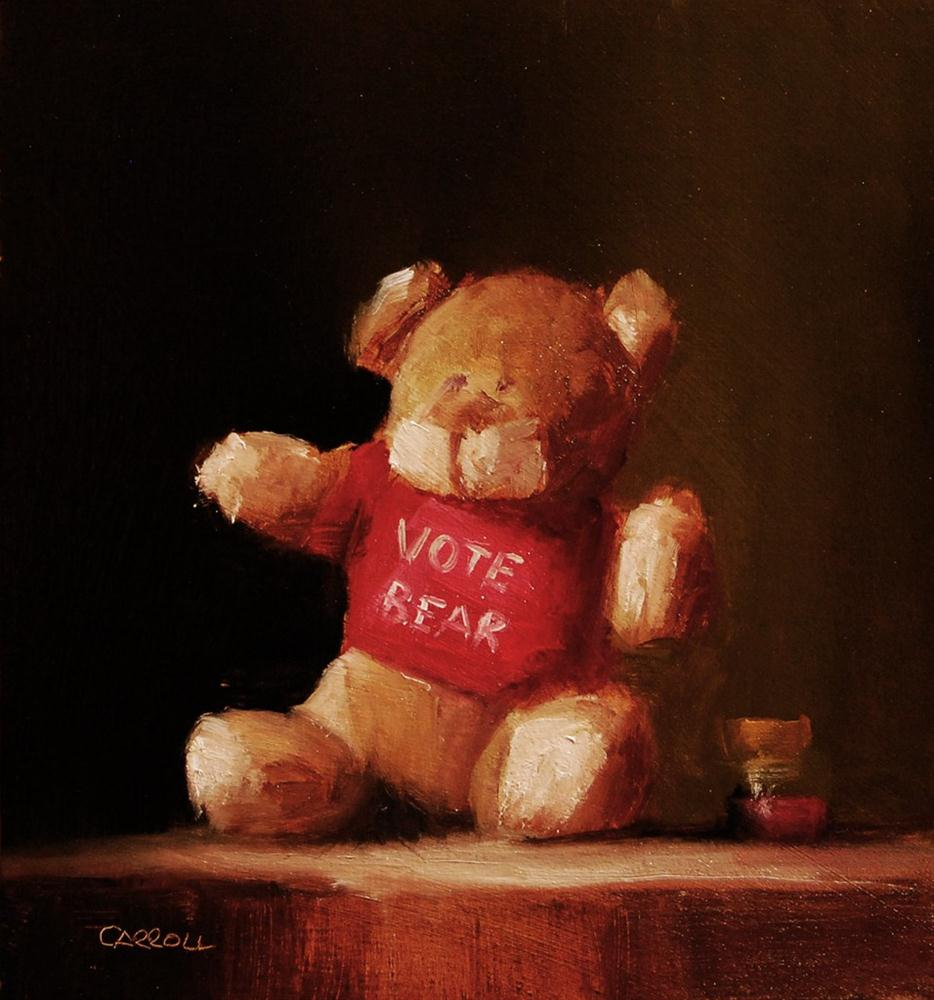 """""""No-one Listens to Me - study"""" original fine art by Neil Carroll"""