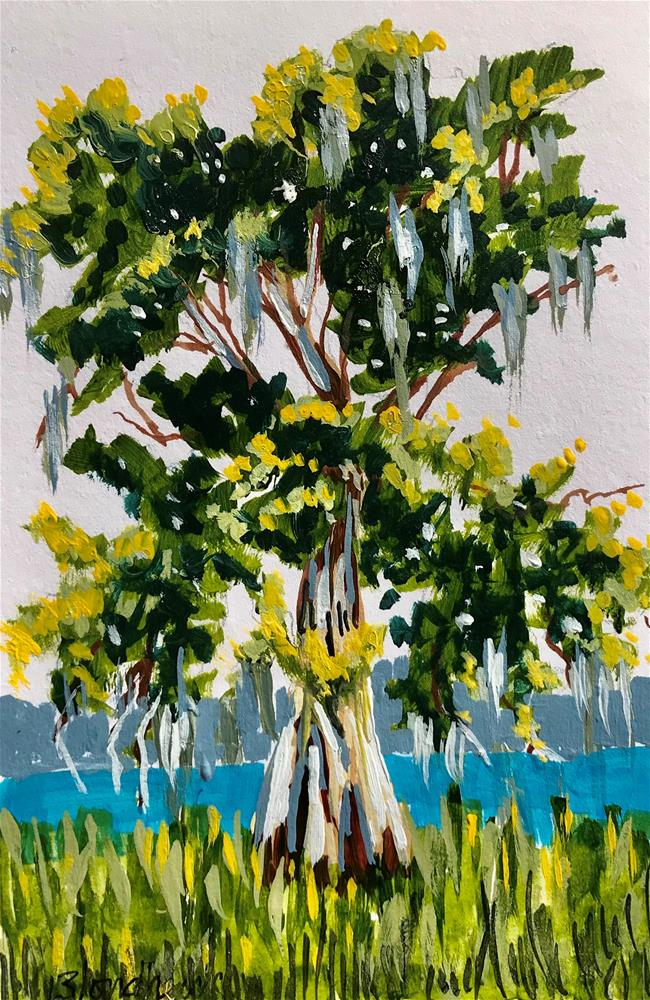 """Bald Cypress"" original fine art by Linda Blondheim"